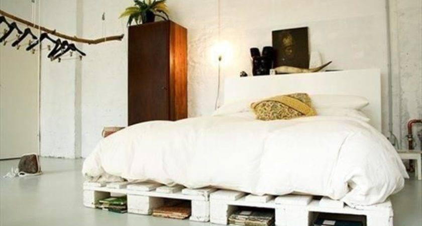 Ideas Comfort Pallet Bed Furniture Plans