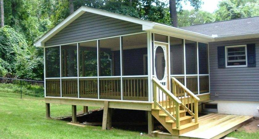 Ideas Covered Back Porch Simple Budget