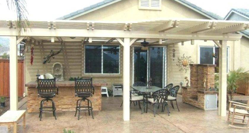 Ideas Covering Concrete Patio Home Design