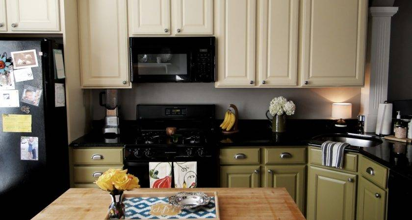 Ideas Diy Paint Kitchen Cabinets All House Design