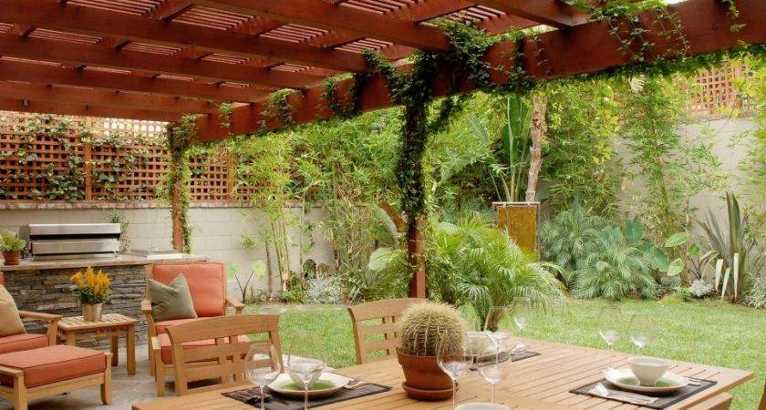 Ideas Landscaping Around Deck Patio Hgtv