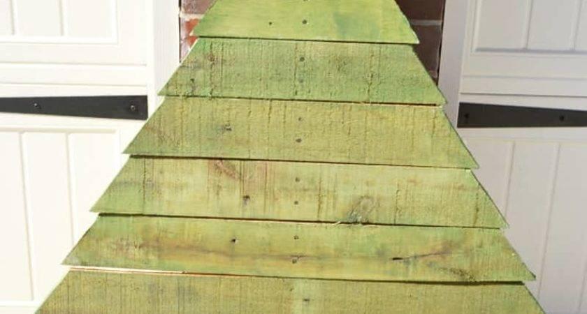 Ideas Make Wood Pallet Christmas Tree