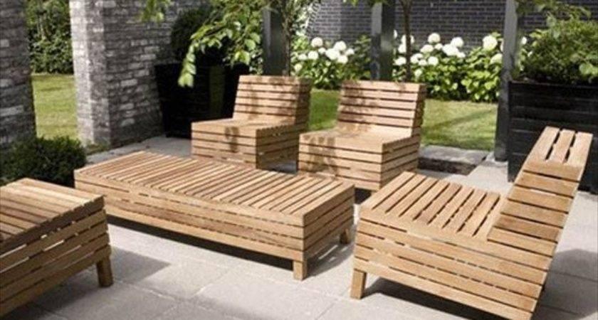 Ideas Pallet Outdoor Furniture Modern Look
