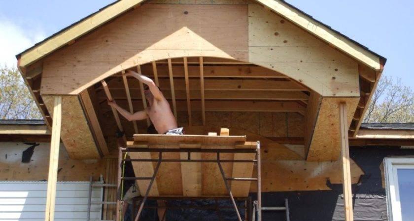 Ideas Porch Roof Framing