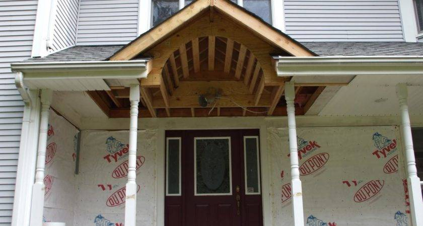 Ideas Porch Roof Framing