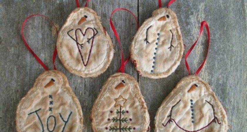Ideas Primitive Christmas Decorations Creative Home