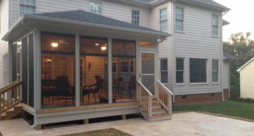 Ideas Screen Porch Windows Karenefoley Chimney
