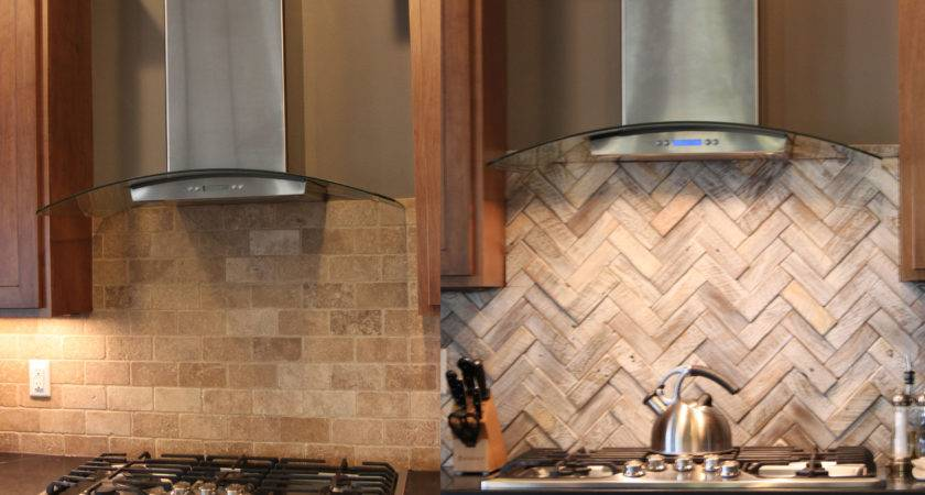 Ideas Tips Painting Kitchen Cabinets Herringbone