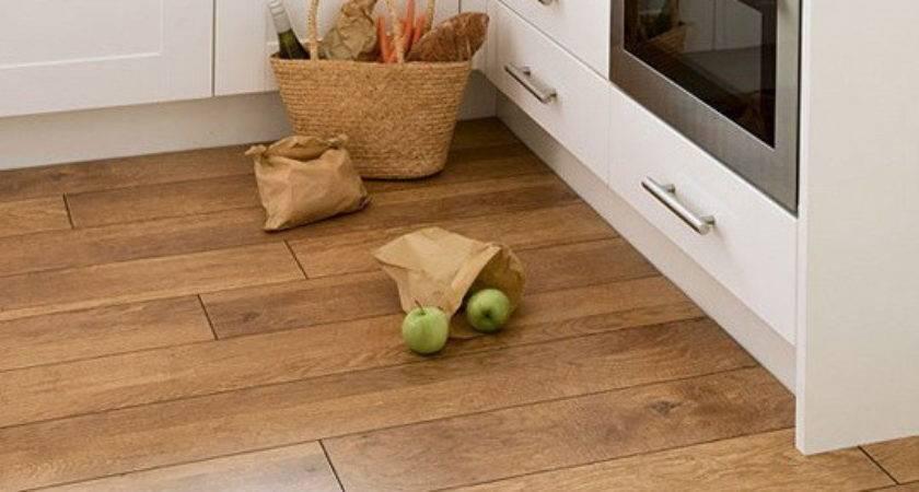 Ideas Wooden Kitchen Flooring Home Garden