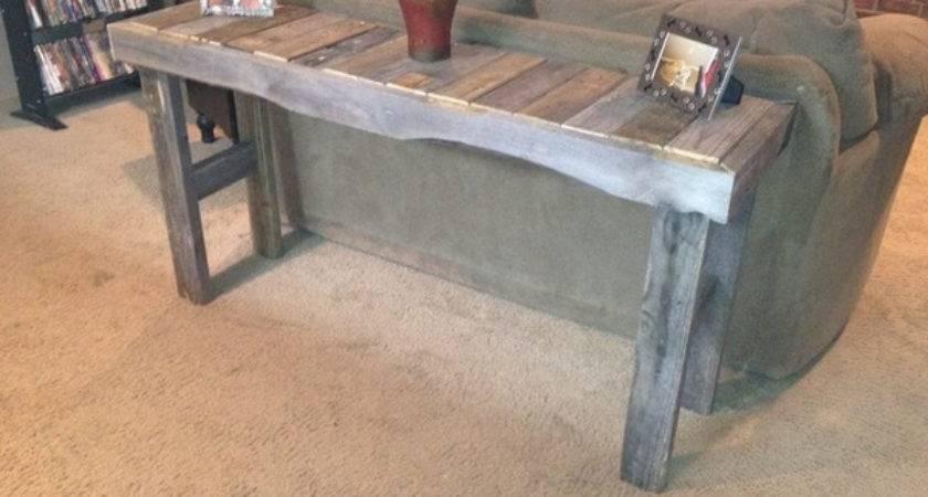 Impressive Wooden Pallet Sofa Table Ideas Pallets Designs
