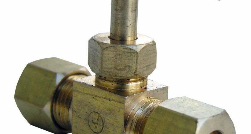 Inch Compression Straight Brass Needle Valve