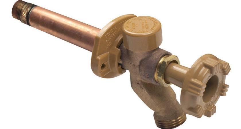 Incridible Outdoor Water Spigot Frost Faucet