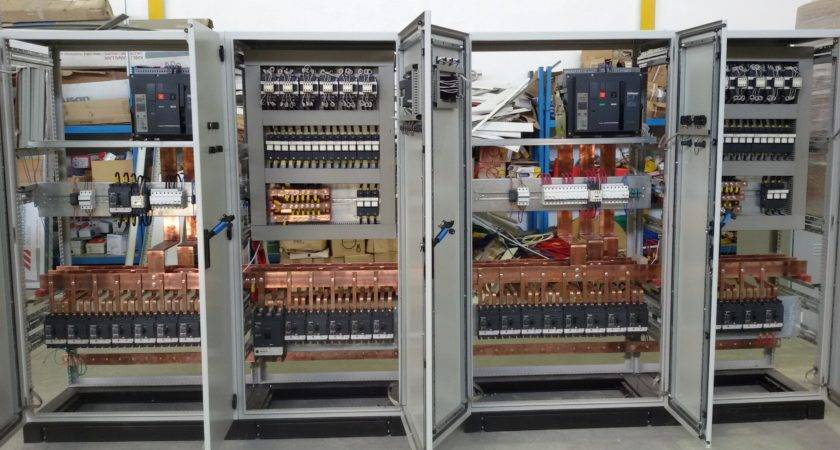 Industrial Electrical Panel Board Control