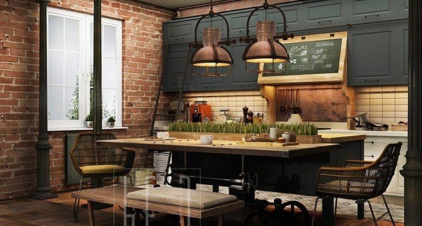 Industrial Interior Design Ideas Home Decoration