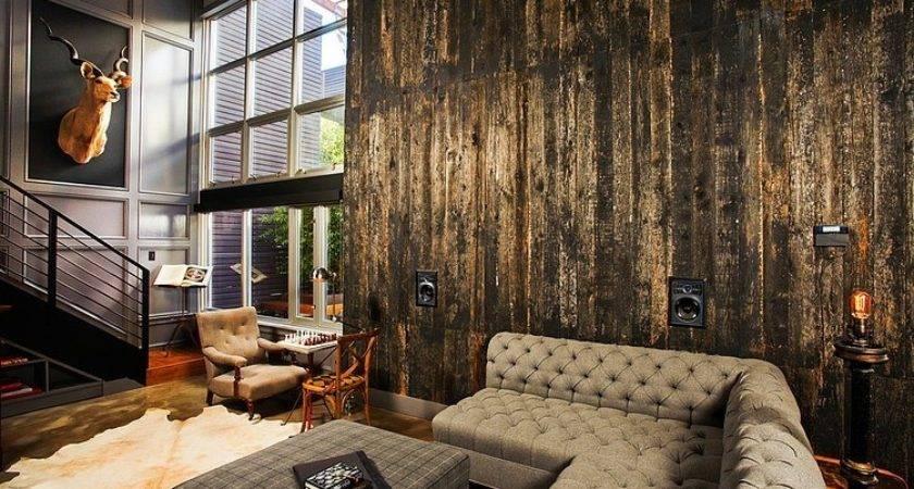Industrial Retro Interior Design Homeadore