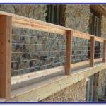 Inexpensive Deck Railing Ideas Decks Home Decorating
