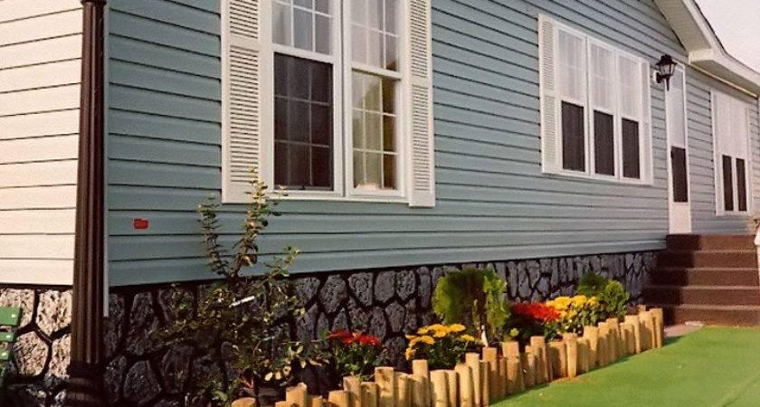 Inexpensive Mobile Home Skirting Ideas Homes