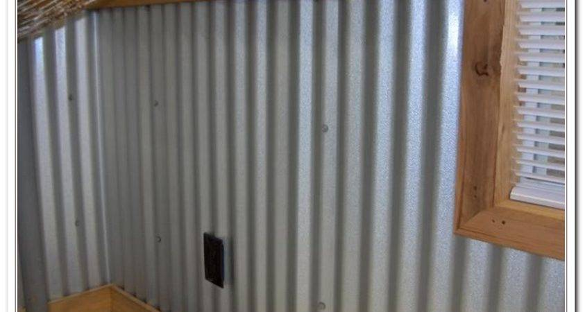 Ingenious Corrugated Metal Wall Panels Home Depot Walls