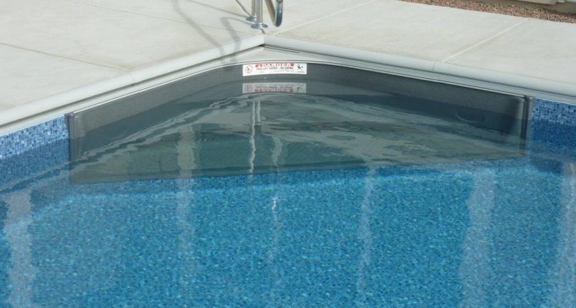 Inground Fiberglass Pool Steps Vinyl Liner Pools