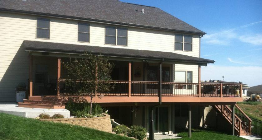 Inland Group Deck Roof Addition