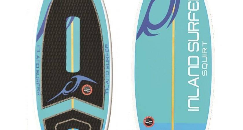 Inland Surfer Skim Squirt Wakesurf Board Evo Outlet