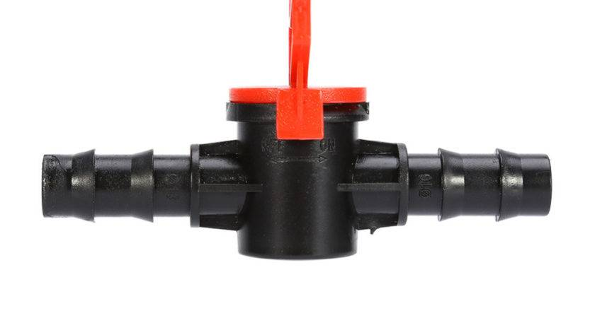 Inline Garden Water Hose Shut Off Valve Switch
