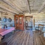 Inside Log Cabin Sauer Beckmann Living History