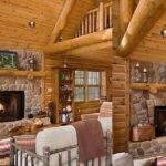 Inside Log Cabins Decorating Ideas Youtube