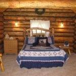 Inside Saddlehorn Log Cabin Jjj Wilderness