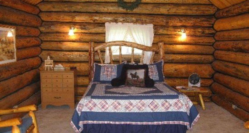 Inside Saddlehorn Log Cabin Jjj Wilderness