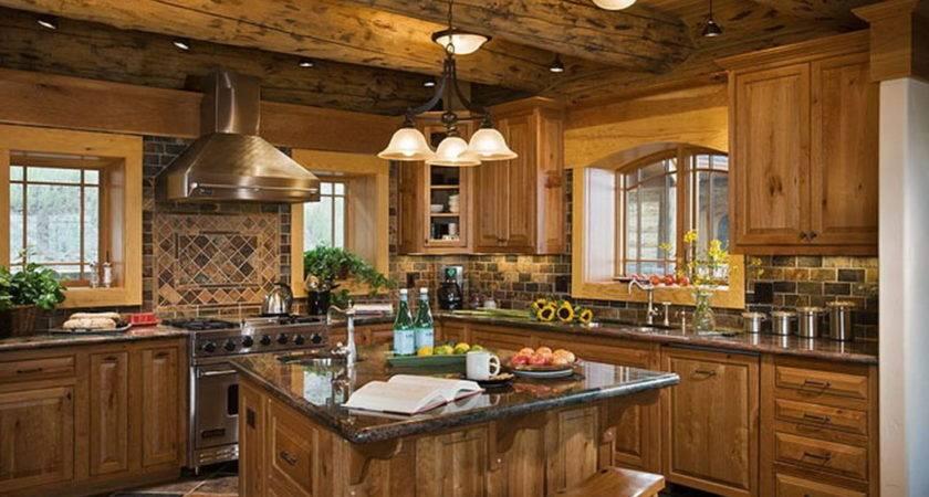 Inside Small Log Cabin Joy Studio Design