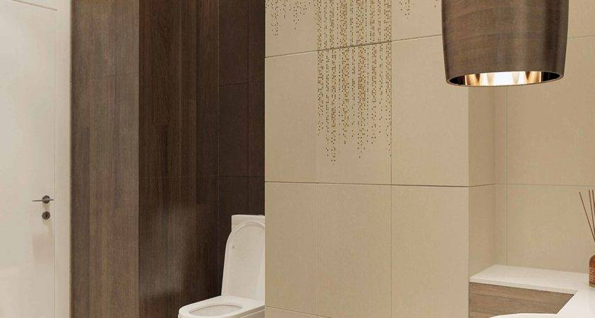 Inspiration Interior Lovely Wood Tile Bathroom Wall