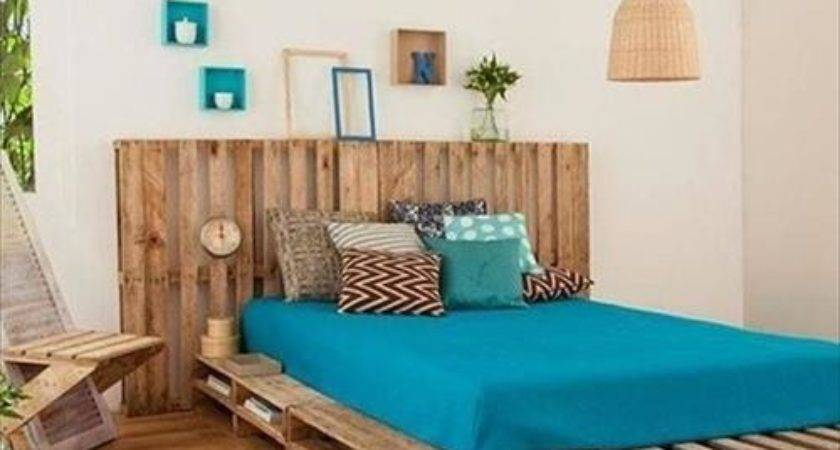 Inspiration Pallet Bedroom Furniture Pallets Designs
