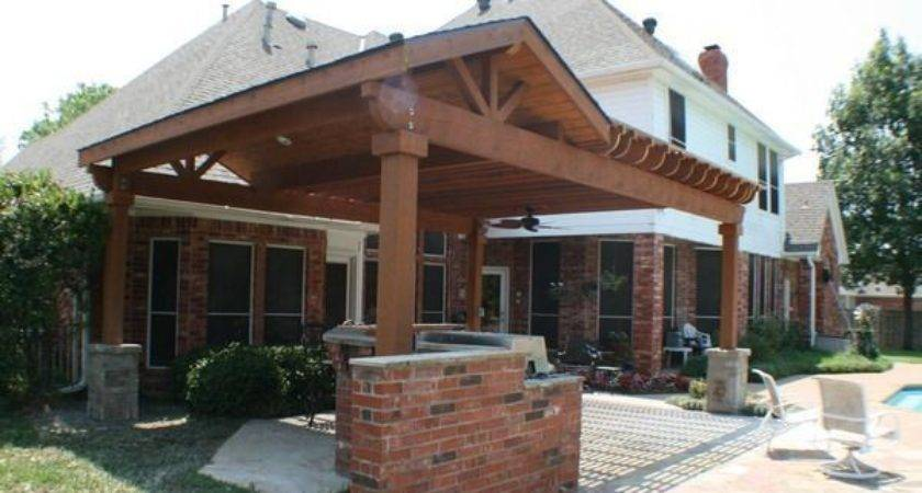 Inspirational Covered Patios Attached House Decoration