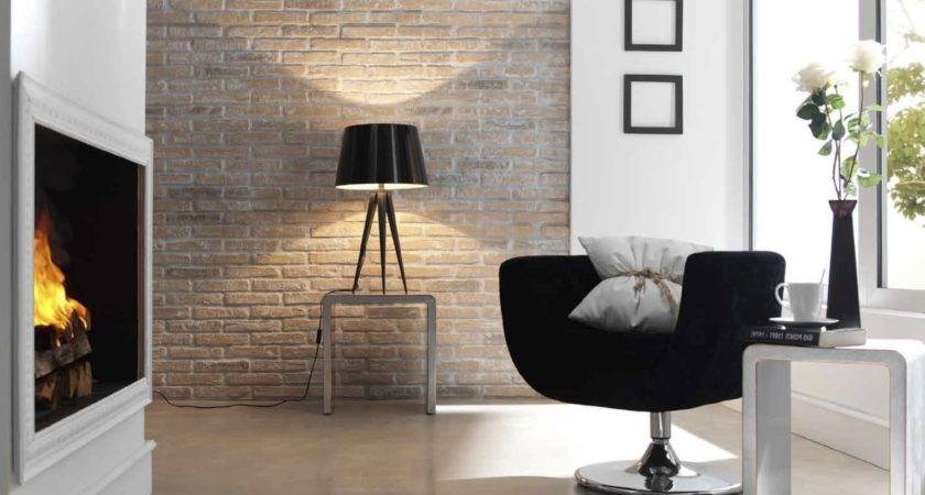Inspired Industrial Glamour Exposed Brick Panels