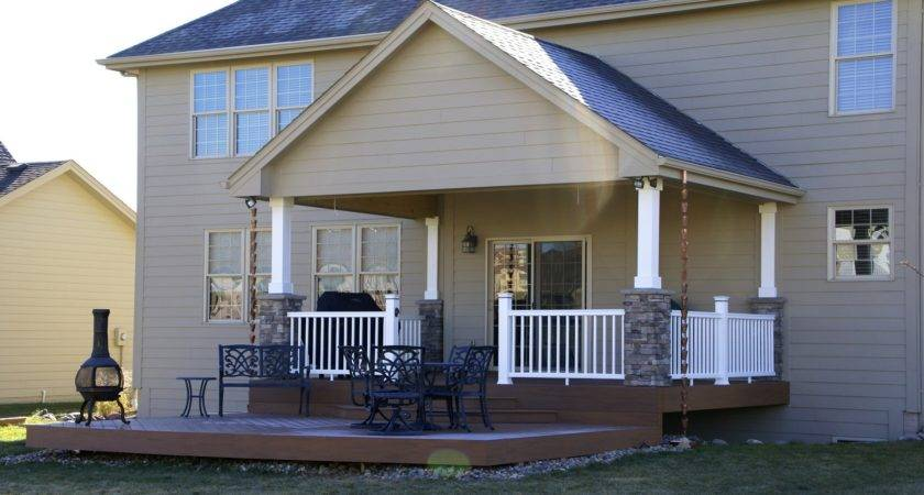 Inspiring Covered Deck Plans Designs