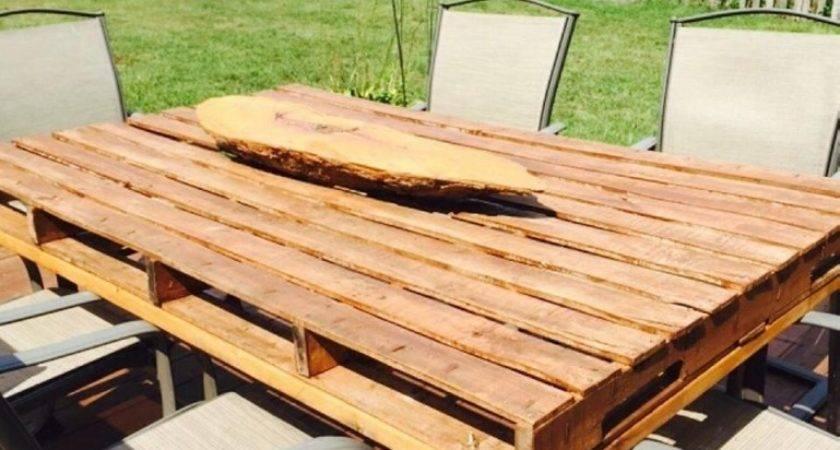 Inspiring Wood Patio Table Diy Design