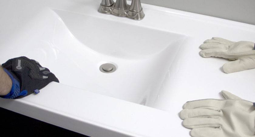 Install Bathroom Vanity Sink