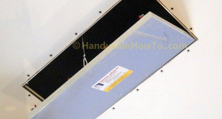 Install Bauco Plus Drywall Access Panel Part