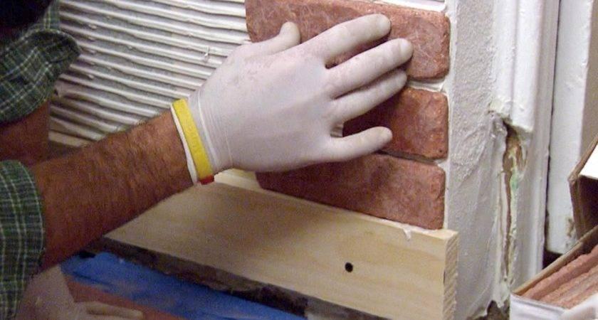 Install Brick Veneer Wall Tos Diy