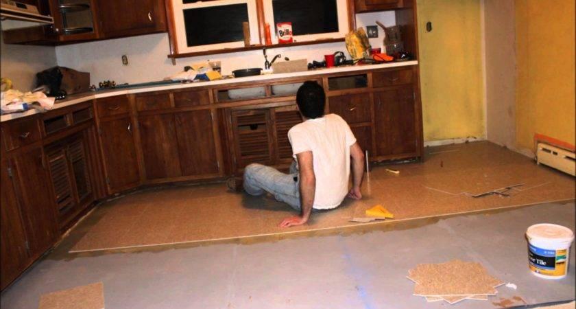 Install Ceramic Tile Floor Kitchen Thefloors