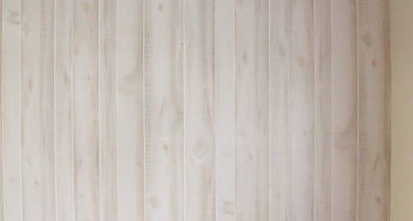 Install Faux Wood Paneling Log Wall Perfectly
