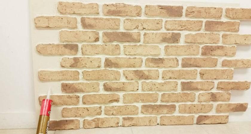 Install Imitation Brick Paneling Blog