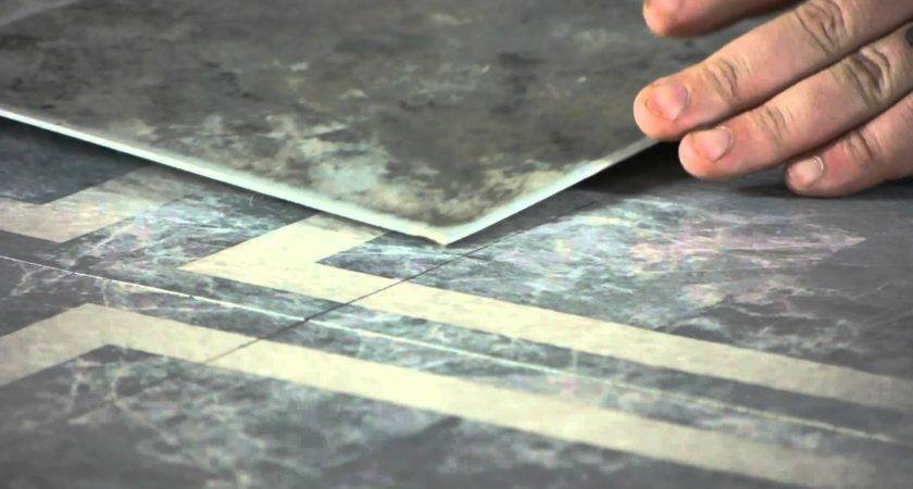 Install Linoleum Tile Squares Existing Tiles