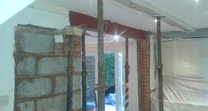 Install Load Bearing Beam Europa Building