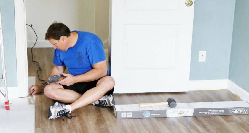 Install Luxury Vinyl Plank Flooring Sand Sisal