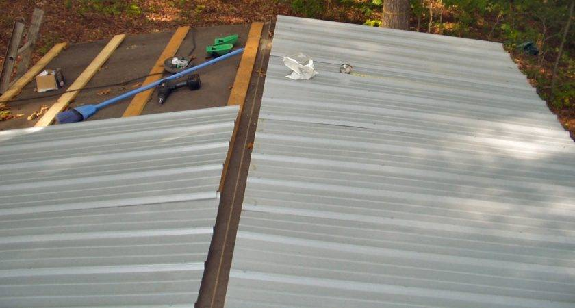 Install Metal Roof Over Shingles Mobile Home