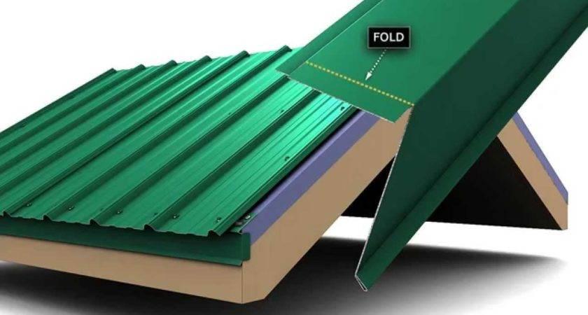 Install Metal Roof Rake Trim Union Masterrib