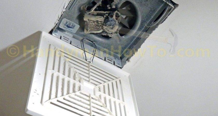 Install Panasonic Whisperceiling Bathroom Vent Fan