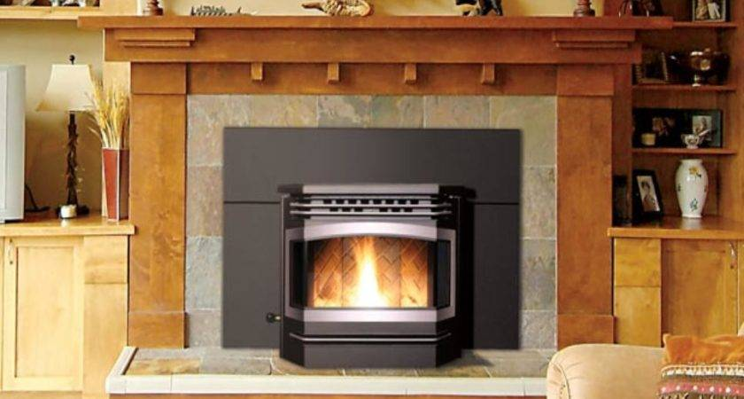 Install Pellet Stove Insert Into Fireplace Inserts